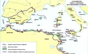 Mapas Colonias de Fenicia