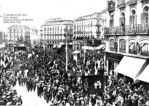 Resultado de imagen de Huelga general en España de 1917